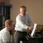 Dr. Olson and Stuart