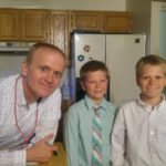 Kevin Olsen with Derek and Joseph